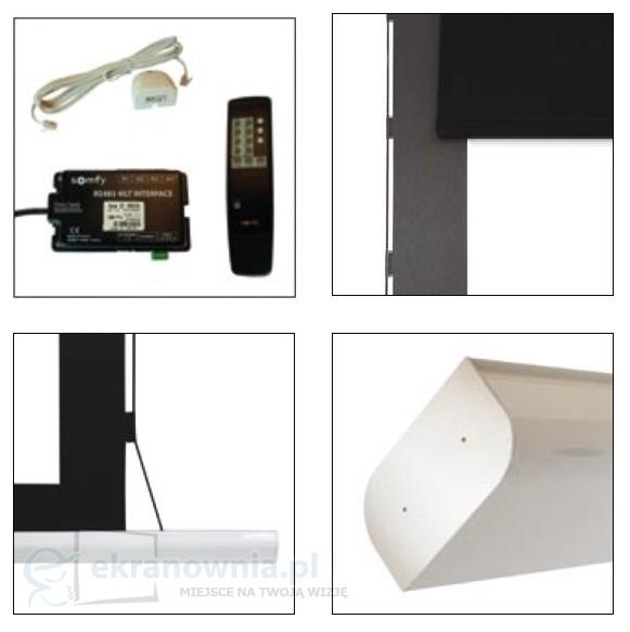 Adeo Multiformat Tensio - ekran wieloformatowy z napinaczami | sklep ekranownia.pl