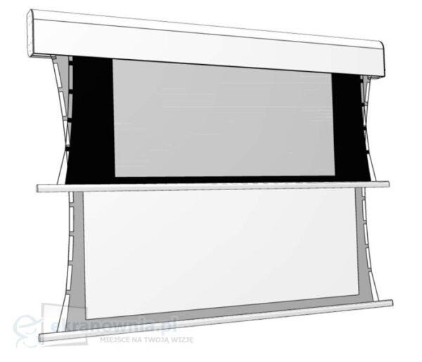 Adeo Biformat Tensio - ekran z napinaczami