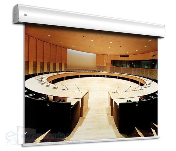 Elektryczny, wielkoformatowy ekran projekcyjny - Adeo Max One | sklep ekranownia.pl