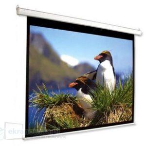 Optika - ekran projekcyjny ręcznie rozwijany | sklep ekranownia.pl