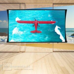 Screen Innovations Zero - G - ekran z napinaczami | sklep ekranownia.pl