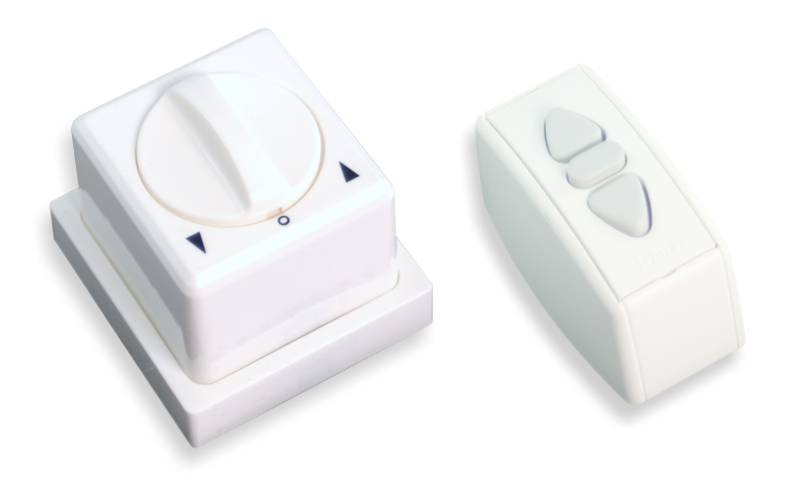 Przełączniki naścienne do ekranów elektrycznych