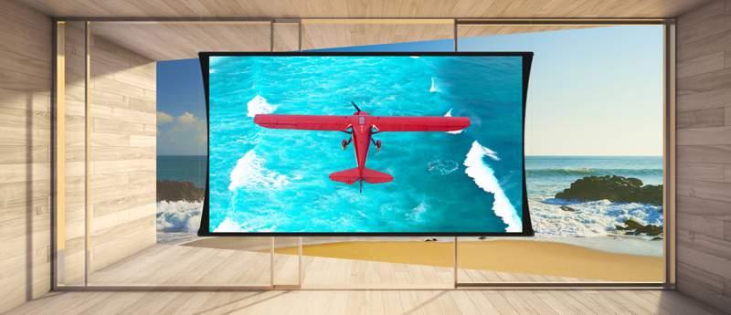 Ekran projekcyjny SI Zero-G