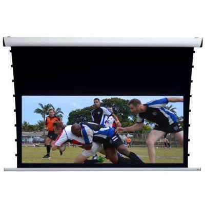 Ekran projekcyjny z napinaczami Adeo Rugby Pro Tensio