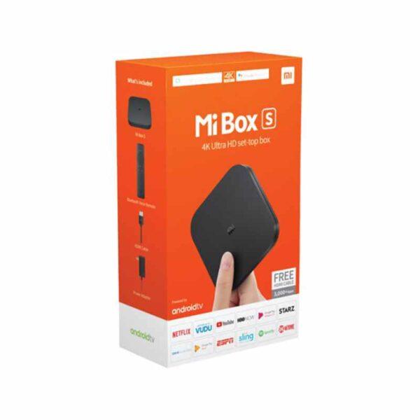 Opakowanie odtwarzacza MiBox S