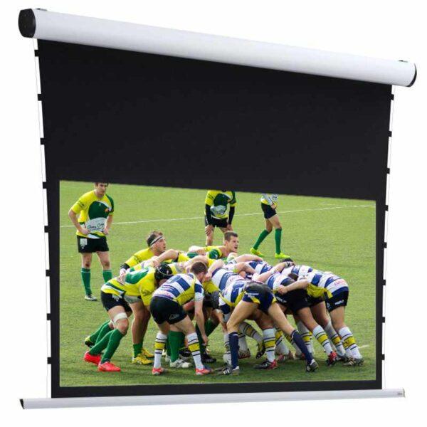 Widok ekranu z napinaczami Adeo Rugby Pro Tensioned